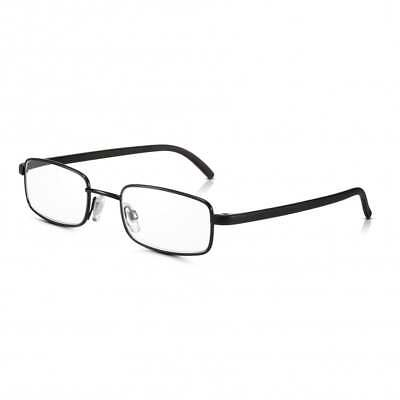 f4c4fd7deae4 Black Frame Glasses: Metal Optical Quality Magnifying Spectacles For Reading