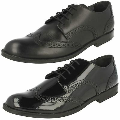 Girls Startrite Formal School Brogue Shoes 'Burford'