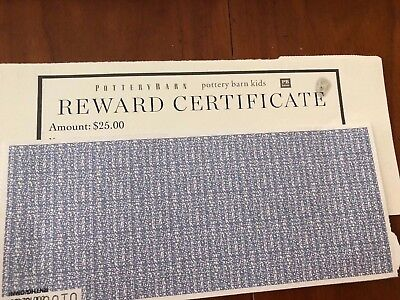 Pottery Barn Coupon 25 00 Coupon Must Use Pottery Barn Credit Card