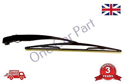 Rear Wiper Arm & Blade 406mm For Vauxhall Corsa C Combo 2000 - 2010