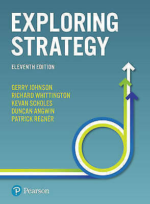 Exploring Strategy 11th Edition Text and Cases, PDF FILE, INSTANT EMAIL DELIVERY