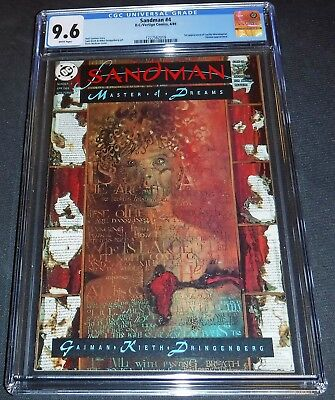 Sandman #4 First Appearance Lucifer CGC 9.6