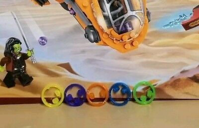 Lego Marvel 76107 ●PLUS ALL STONES from other sets● with figures New w THANOS!!!