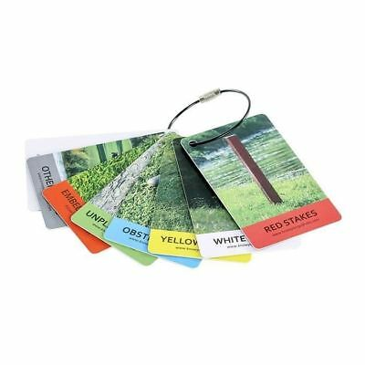 """IZZO """"Know Your Rules"""" Golf Bag Tags"""