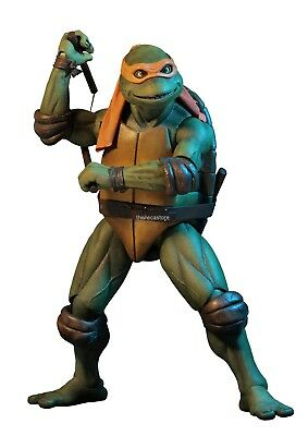 Teenage Mutant Ninja Turtles – 1/4 Scale Action Figure – Michelangelo - NECA