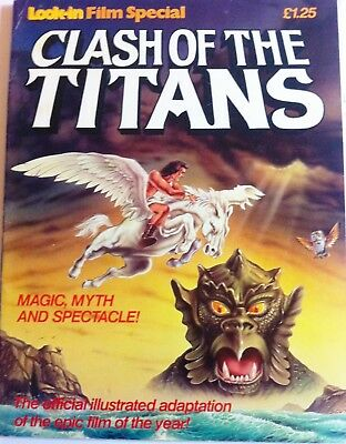 Clash Of The Titans Graphic Novel Official Illustrated Movie Adaptation