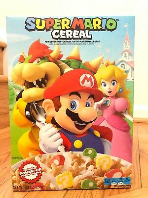 Super Mario Cereal Nintendo - New - Ships Fast!!!
