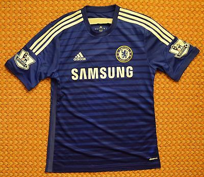 CHELSEA FC 2014 2015 Adidas Home Jersey Kit Blue-Excellent Condition ... 4ffea2a87
