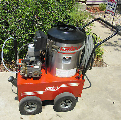 Used Hotsy 555ss Electric Hot Water Pressure Washer SN:H0402-66445 (1.109-033.0)