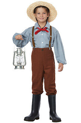 Brand New Pioneer Boy Colonial Child Costume