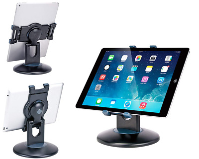 """Business Retail Tablet Stand 360° Rotation Stand for Most 7.9"""" -13""""  Black NEW"""