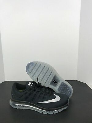 new product cc405 68b15 Nike Air Max 2016 Black Dark Grey Running Shoes 806771 001 Men s Size 13