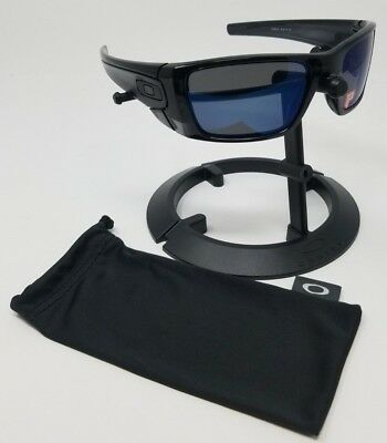 2d281d5a5b988 OAKLEY FUEL CELL Polarized Iridium Sunglasses Polished Black Ink ...