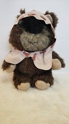 1984 Star Wars Paploo The Ewok Plush