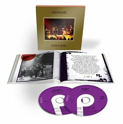 Deep Purple Live In Japan 2 CD Deluxe Edition 2014 Remastered with Booklet