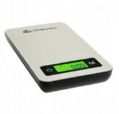 On Balance Pro-Steel PRS-100 Digital Scales Scale Weight Weighing– 100g x 0.01g
