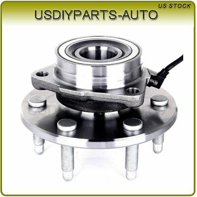 Front Wheel Hub & Bearing W/ ABS 6 lug For GMC Pickup Truck Chevy 4X4 4WD AWD