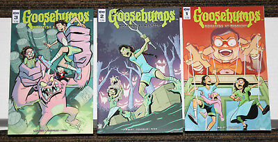 IDW Goosebumps: Monsters at Midnight # 1-3 COMPLETE SET - ALL A 1sts