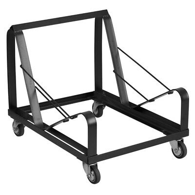 Steel Sled Base Stack Chair Dolly - Stackable Metal Chair Dolly