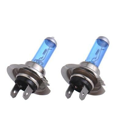 2Pcs H7 12V 100W Xenon White 5000k Halogen Blue Car Head Light Lamp Globes Bulbs