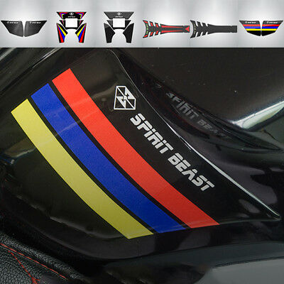 3D Motorcycle Waterproof Gas Fuel Tank Pad Protector Sticker Decal For CB190R