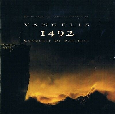 Vangelis ‎– 1492 – Conquest Of Paradise CD BOF
