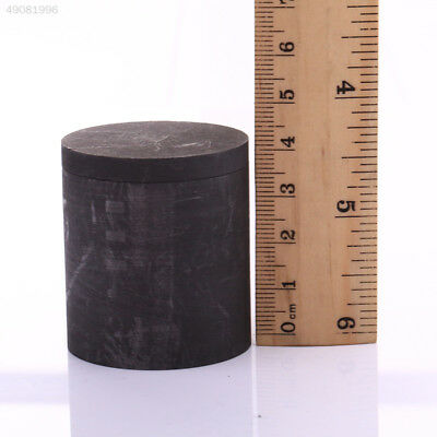 Lid Graphite Crucible Mini Furnace Torch Melting Silver Metal Cylinder Shap