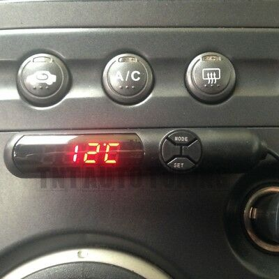 Voiture Thermomètre Voltmètre Horloge Digital Land Rover Freelander 1 2 Evoque