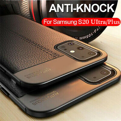 For Samsung Galaxy S9 S8 S4 S5 S6 S7 Silicone Rubber TPU Leather Back Cover Case