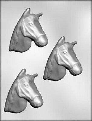 Horse Head Chocolate Mould or Soap Mould
