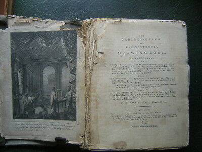 The Cabinet-maker and Upholsterer's Drawing-Book by Thomas Sheraton.