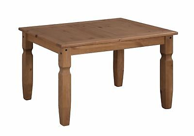 Corona 4'0 Dining Table Solid Mexican Pine by Mercers Furniture