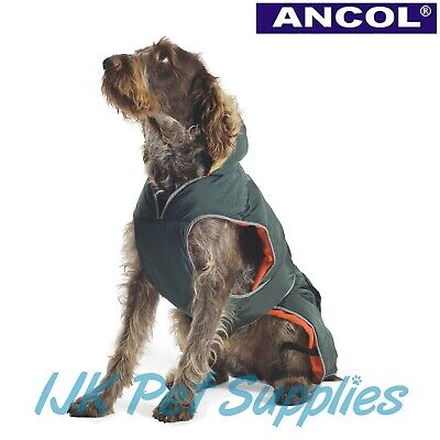Ancol All Weather Muddy Paws Dog Puppy Parka Parker Coat Jacket