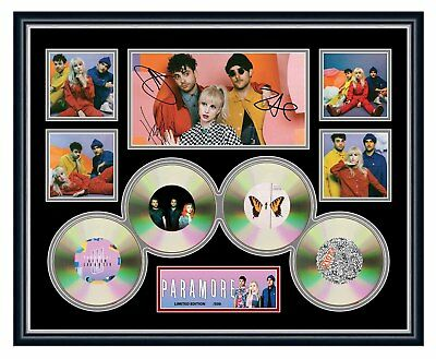 Paramore After Laughter 2018 Signed Limited Edition Framed Memorabilia