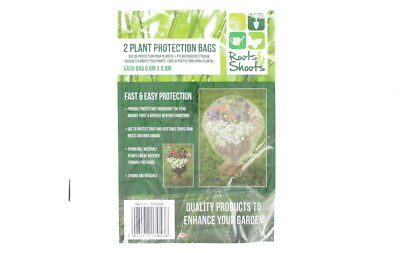 Roots and Shoots 2 Plant Protection Bags Protect Fruit and Vegetable From Insect