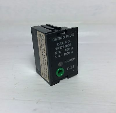 GE TR12S800K 800A Rating Plug TKH/TKL Circuit Breaker General Electric 800 Amp