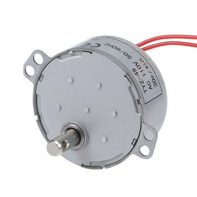 110V 50/60Hz 30RPM CW AC Synchronous Motor Turntable Gear Box for Microwave Oven