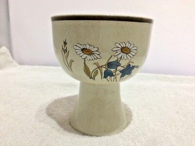 Royal Doulton Hill Top LC1025 Pattern Sundae Dish or Wine Goblet Lambethware