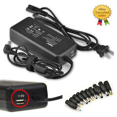 90W Universal AC Adapter Power Supply Wall Charger for Laptop Asus Hp Notebook