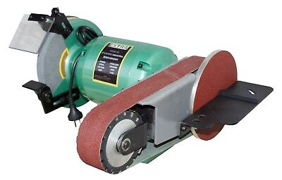 Bench grinder/linisher With Free Taper Spindle And Buffing Mop