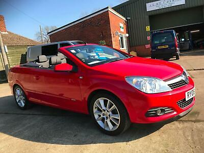 2008 08 Vauxhall Astra 1.9CDTi 16v ( 150ps ) Convertible Twin Top Design