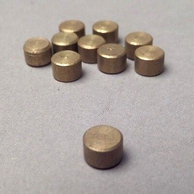 "10-PACK 3/16"" Brass Plugs for AMMCO Brake Lathes, Reference AMMCO 3141, 903141"
