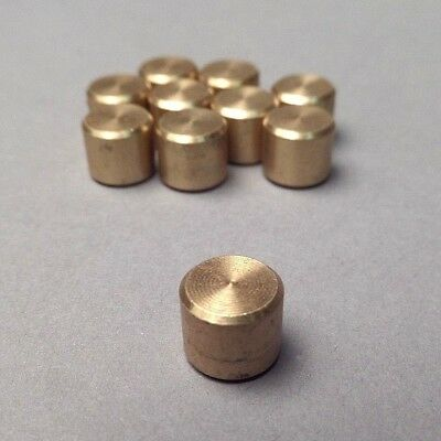 "10-PACK 5/16"" Brass Plugs for AMMCO Brake Lathes, Reference AMMCO 3142, 903142"