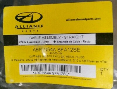 New Freightliner 8 Way Straight Abs Light Cord Cable Assembly Abp-N54A-Sfa12Se