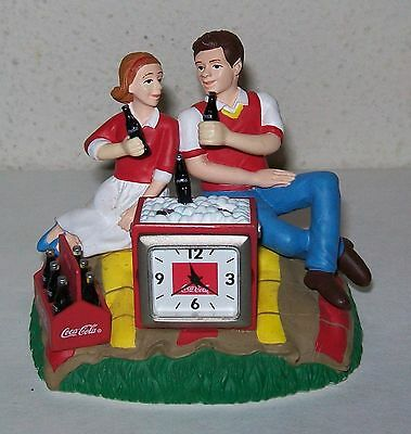 Coca Cola Figure - Couple on Blanket - 2003