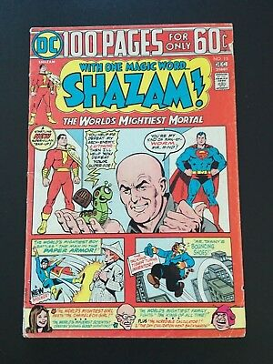 Shazam Comic #15 (DC, 1973) - Very Good Coniditon