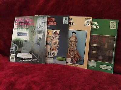 Lot Of 4  Antique Trader Price Guide to Antiques