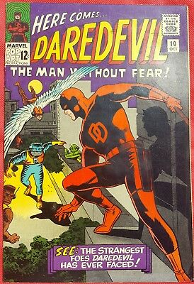 DAREDEVIL 10 MARVEL SILVER AGE 1965 Wally Wood cover & art