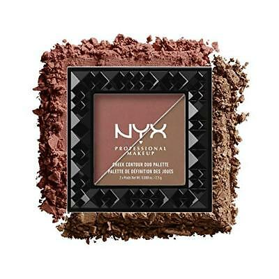NYX Cheek Contour Duo Palette CHCD04 Wine & Dine ~ New & Sealed