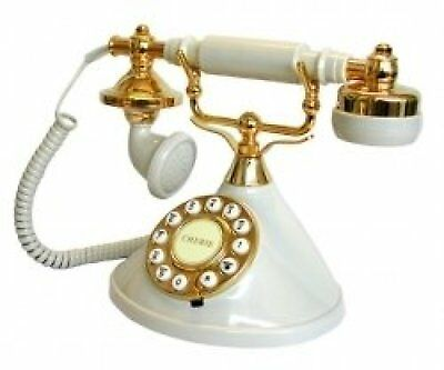 Old Fashioned Telephone Classic Traditional Retro Antique Vintage Style Phone